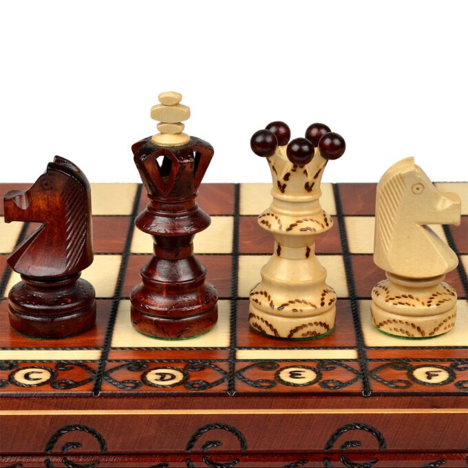 Decorative chess set AMBASSADOR